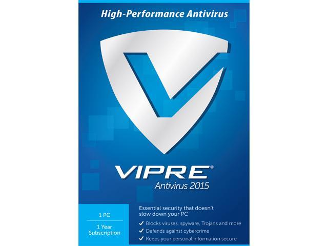 ThreatTrack Security VIPRE Antivirus 2015 - 1 PC 1 Year