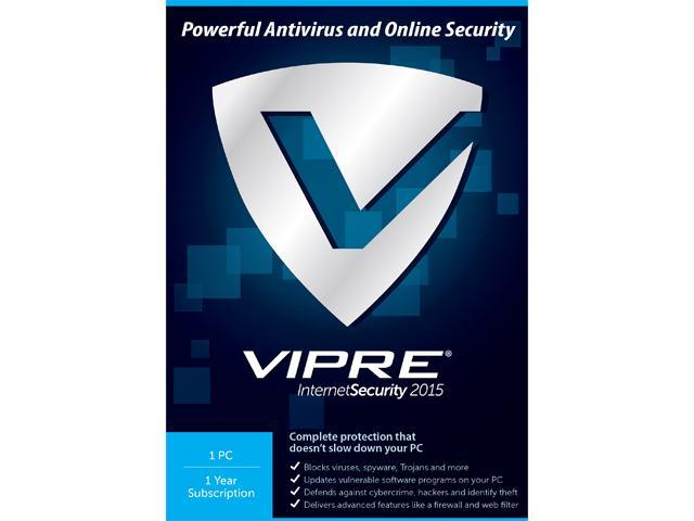 ThreatTrack Security VIPRE Internet Security 2015 - 1 PC 1 Year
