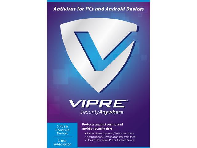 ThreatTrack Security VIPRE Security Anywhere 2015 - 5PC - 5 Device 1 Year