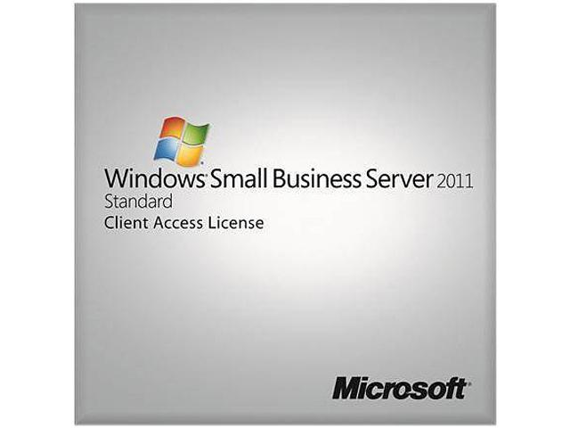 Windows Small Business Server Standard 2011 - 1 User CAL (no media, license only)