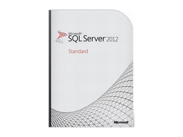 Microsoft SQL Server Standard Edition 2012 English US Only DVD 10 Clt