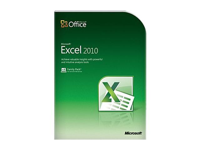 Microsoft Office Office Excel Home and Student 2010 - 3 PC - Download