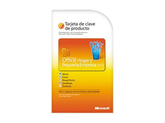 Microsoft Office Office Home and Business 2010 Spanish - 1 PC - Download