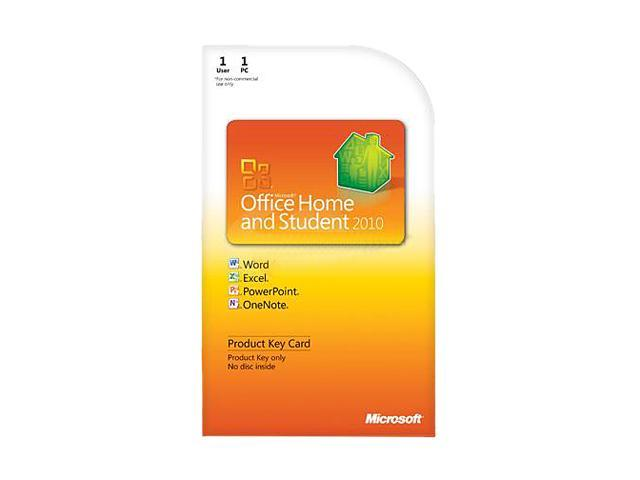 Microsoft Office Office Home and Student 2010 - 1 PC - Download