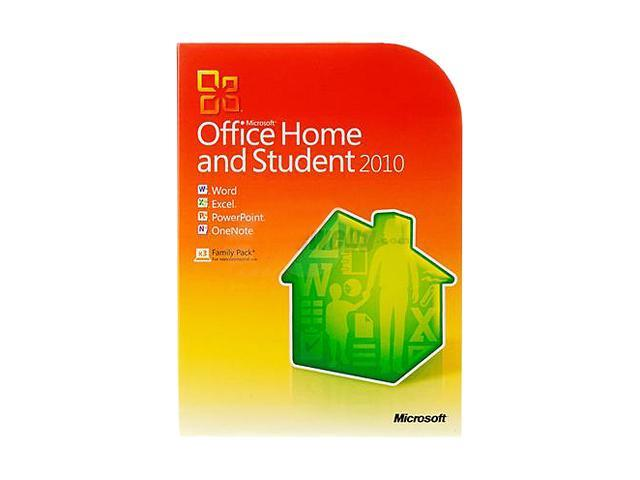 Microsoft Office Home and Student 2010 - 3 PC - Download