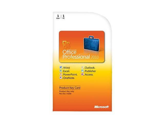 Office Professional 2010 - 1 PC - Download