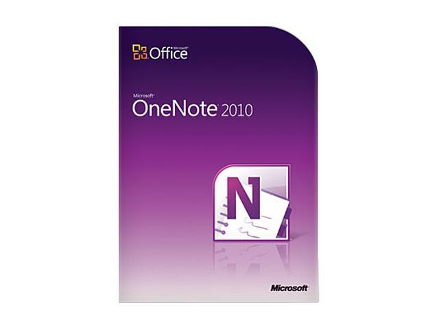 OneNote 2010 Home and Student - 3 PC - Download