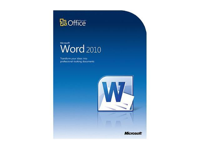 Word Home and Student 2010 - 3 PC - Download