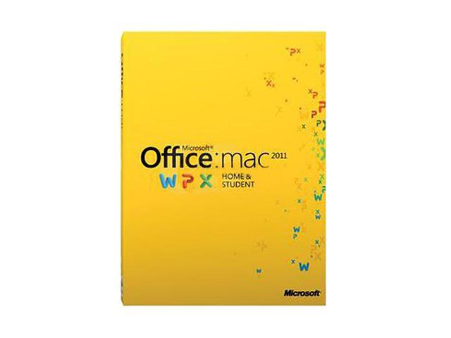 Office Mac Home Student 2011 Family Pack - 3 Mac - Download