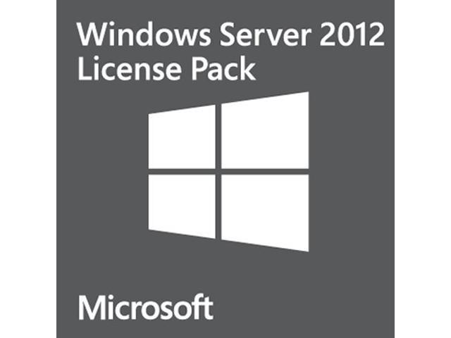 Microsoft Windows Server 2012 - 1 User CAL - OEM
