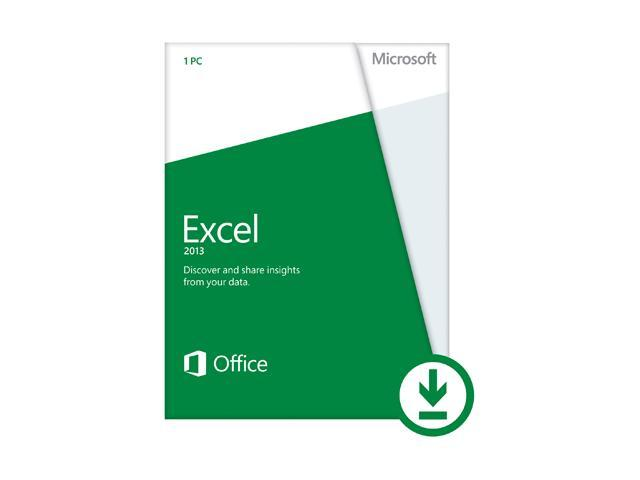Microsoft Excel 2013 (Non-Commercial) - Download - 1 PC
