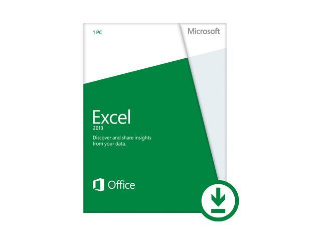 Microsoft Excel 2013 - Download - 1 PC