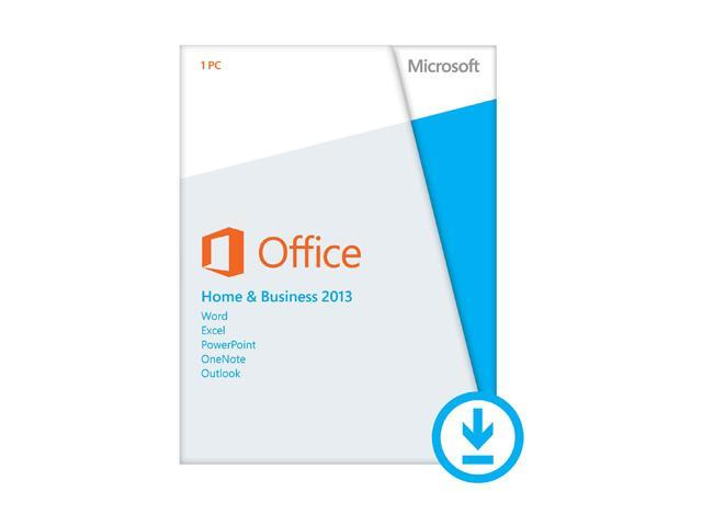 Microsoft Office Home & Business 2013 - Download - 1 PC