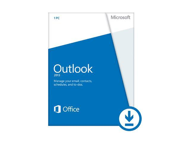 Microsoft Outlook 2013 - Download - 1 PC