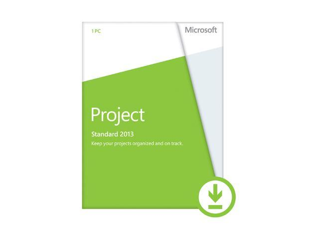 Microsoft Project 2013 - Download - 1 PC