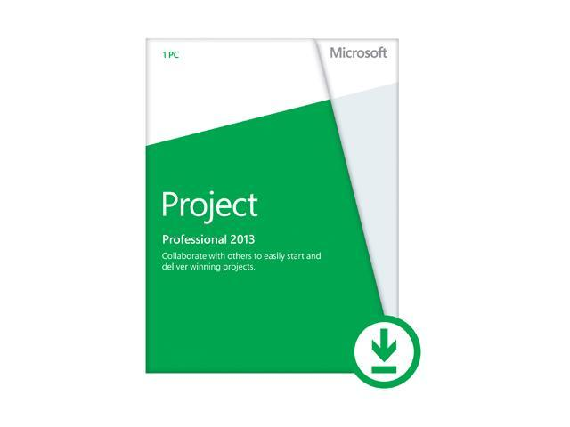 Microsoft Project Professional 2013 - Download - 1 PC