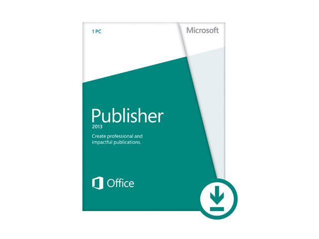 Microsoft Publisher 2013 - Download - 1 PC