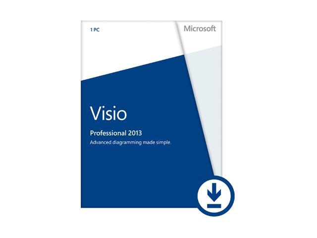 Microsoft Visio Professional 2013 - Download - 1 PC