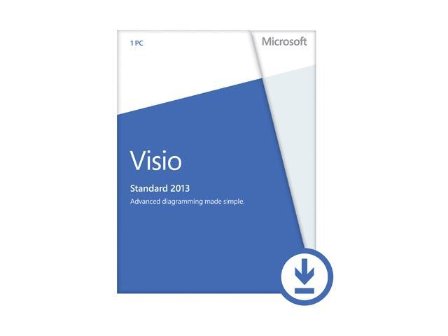 Microsoft Visio Standard 2013 - Download - 1 PC