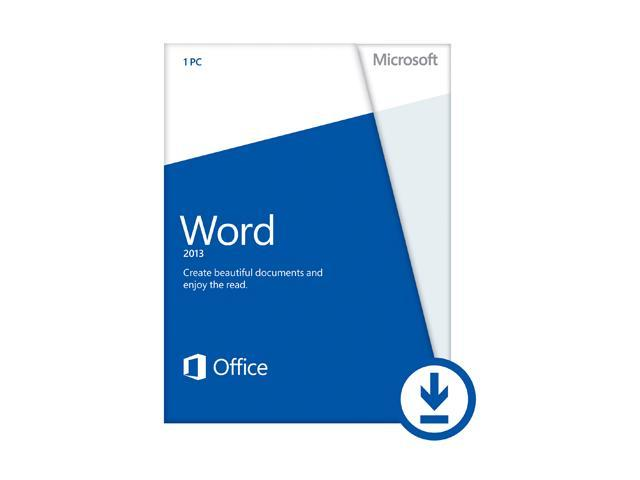 Microsoft Word 2013 - Download - 1 PC