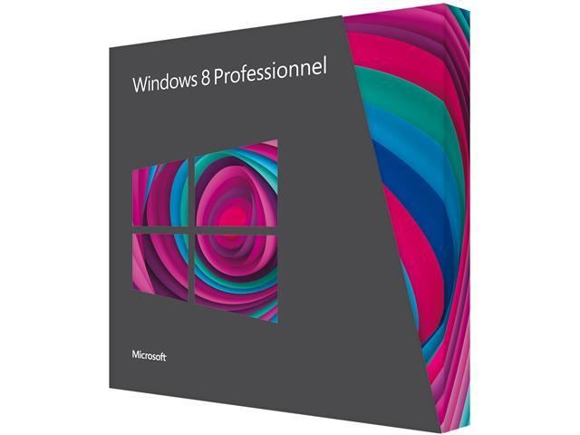 Microsoft Windows 8 Pro French - Upgrade