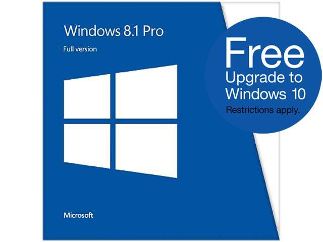Microsoft Windows 8.1 Pro (Full Version) - Download