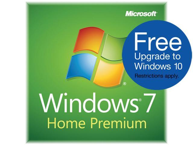 Microsoft Windows 7 Home Premium SP1 32-bit