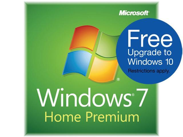 Microsoft Windows 7 Home Premium SP1 64-Bit