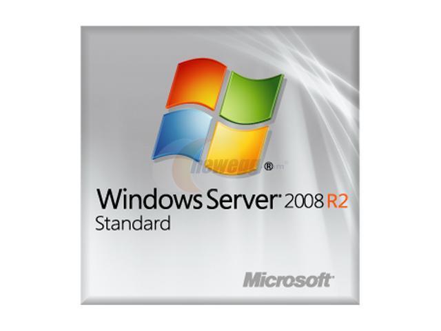 Microsoft Windows Server Standard 2008 R2 SP1 64-Bit (1 - 4 CPU, 5CALs) - OEM