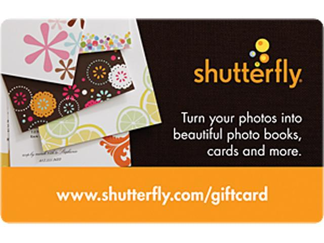Shutterfly $50 Gift Card (Email Delivery)