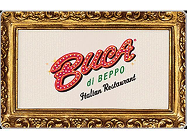 Buca Di Beppo $10 Gift Card (Email Delivery)