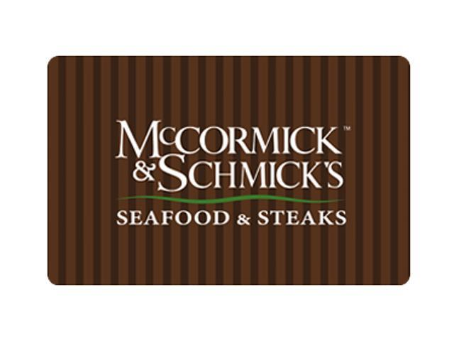 McCormick & Schmick's $25 Giftcard (Email Delivery)