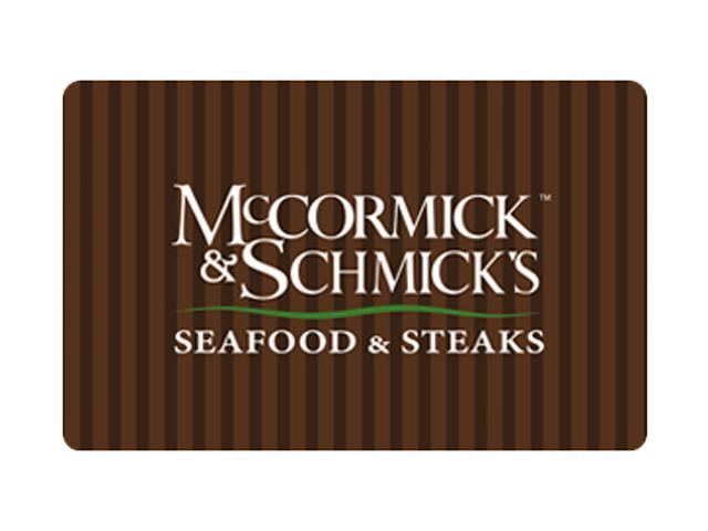 McCormick & Schmick's $100 Giftcard (Email Delivery)