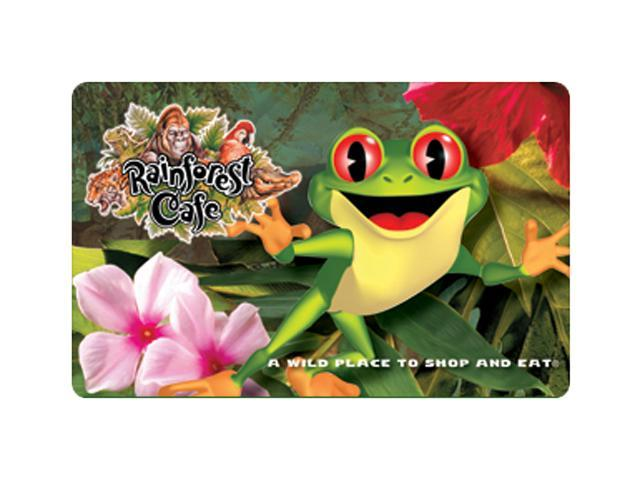 Rain Forest Cafe $50 Giftcard (Email Delivery)
