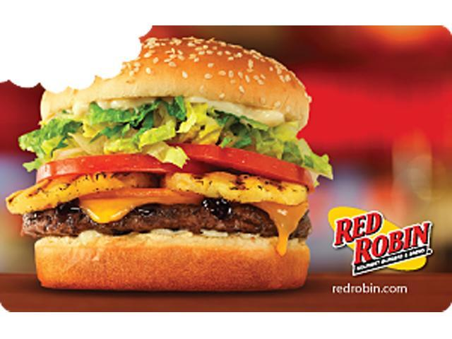 Red Robin $50 Giftcard - Digital Delivery