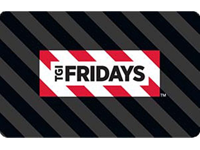 TGI Friday's $100 Gift Card (Email Delivery)