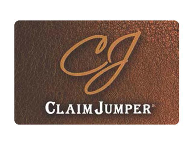 Claim Jumper $25 Giftcard (Email Delivery)