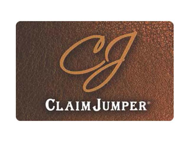 Claim Jumper $100 Giftcard (Email Delivery)