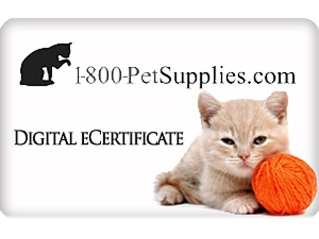 1800Petsupplies.com $25 Gift Card (Email Delivery)