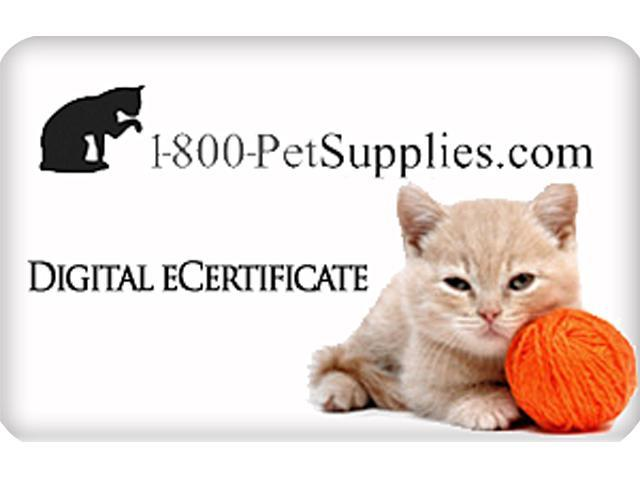 1800Petsupplies.com $50 Gift Card (Email Delivery)