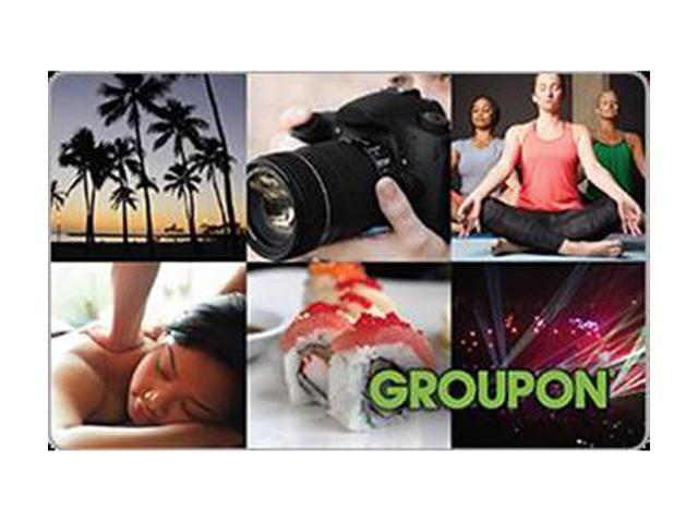 Groupon $25 Gift Card (Email Delivery)