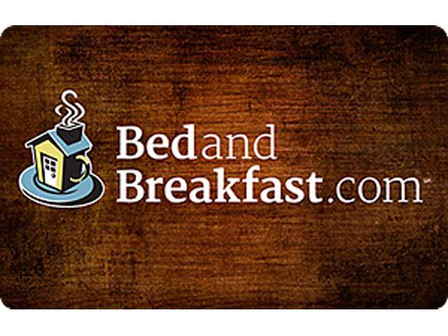 BedandBreakfast.com $50 Gift Card (Email Delivery)