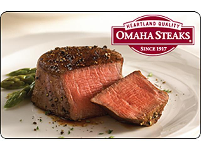 Omaha Steaks $25 Gift Card (Email Delivery)