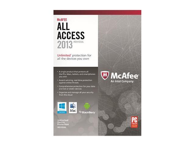 McAfee All Access 2013 - Individual
