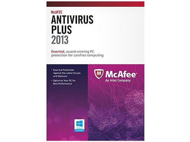 McAfee AntiVirus Plus 2013 - 1 PC Download