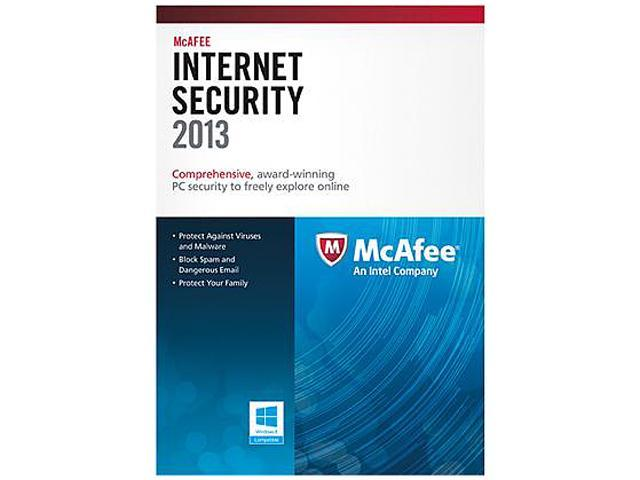 McAfee Internet Security 2013 - 3PC Download