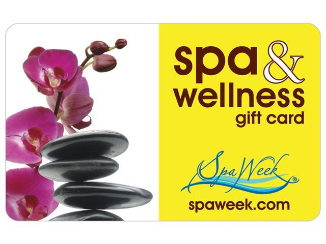 Spa and Wellness Gift Card by Spa Week $75 Gift Cards - Email Delivery