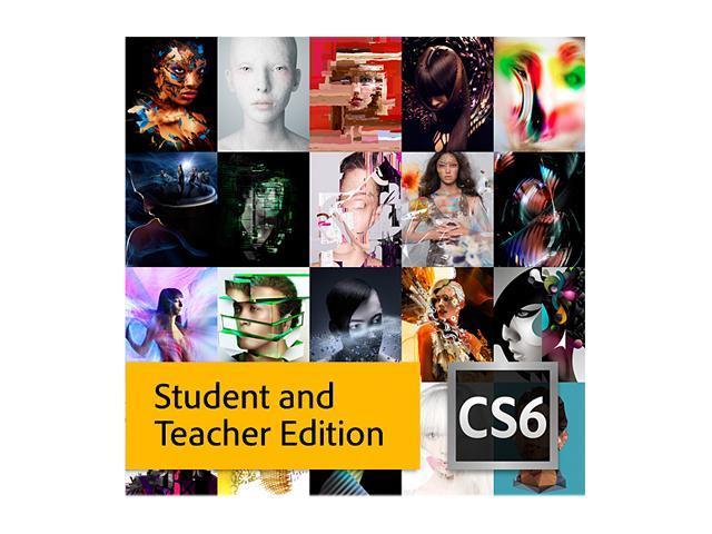 Adobe CS6 Master Collection for Windows - Student & Teacher Edition