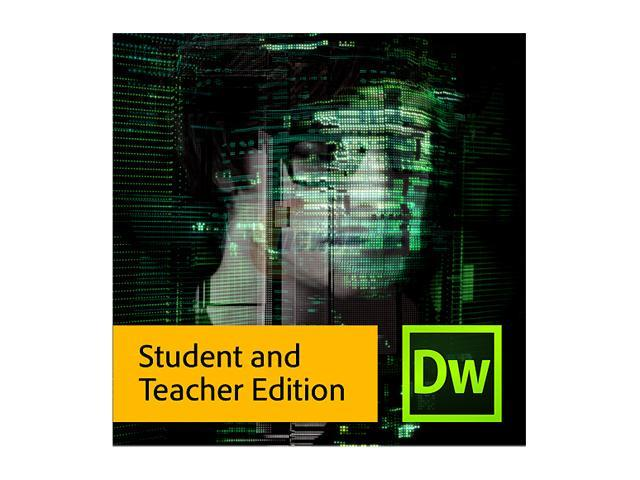 Adobe Dreamweaver CS6 for Windows - Student & Teacher Edition [Legacy Version]