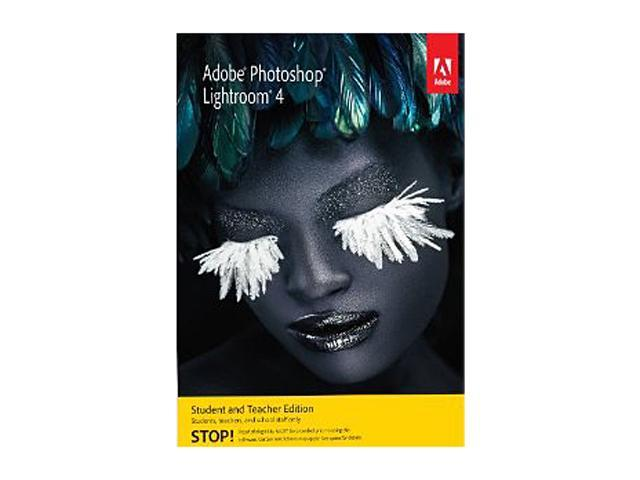 Adobe Photoshop Lightroom 4 for Windows & Mac - Student & Teacher - Download
